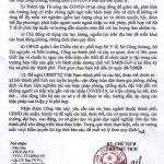 Thông báo số 4869 /UBND-SYT ngày 25/7/2020 của Chủ tịch UBND TP. Đà Nẵng v/v khẩn trương triển khai các biện pháp phòng, chống dịch COVID-19